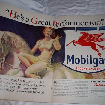 Vintage magazine - Advertising