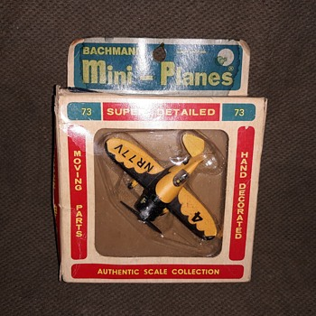 Bachmann Mini-Planes Gee Bee Racer 1970s - Toys