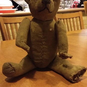 STIEFF BEAR GROWLER NOT WORKING. JOINTED. VERY OLD