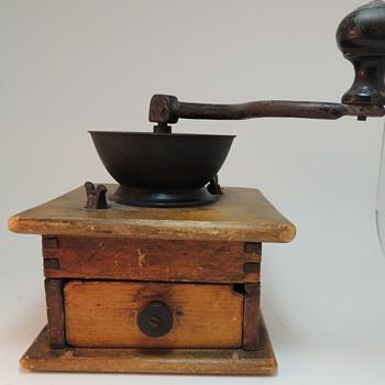 Old Coffee Bean Grinder