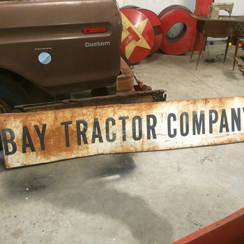 Bay Tractor Company sign - Signs