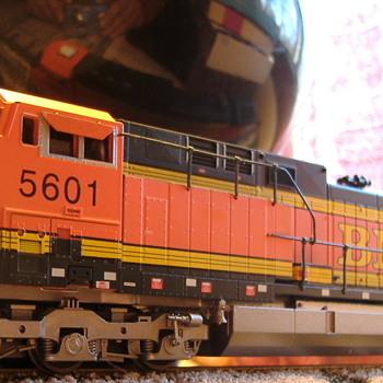 BNSF #5601 AC44CW HO scale