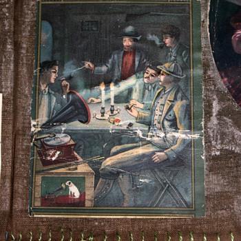 Beautiful Victorian Scrapbook on Muslin from Oakland, California ~1903