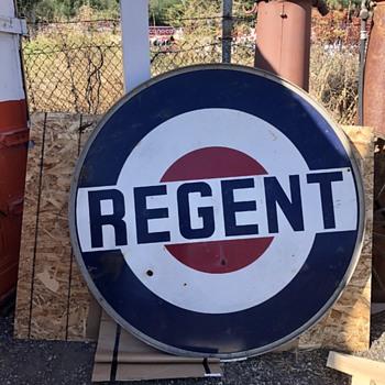 Regent Gas Sign - Signs