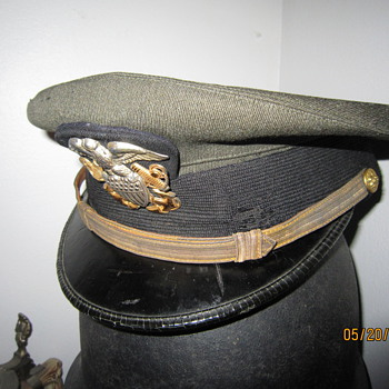 World War Two Ensign Navy Officer Hat - Military and Wartime
