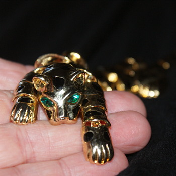 7 1/2 Inches Wild Cat! - Costume Jewelry