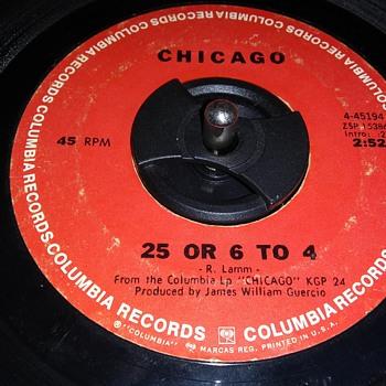 45 RPM SINGLE....#18 - Records