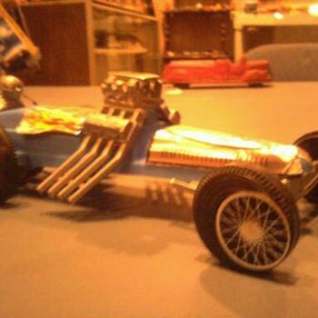 Korris Kars Sling SHot dragster...  1/25 scale...