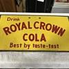 Royal Crown Cola cooler lid