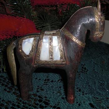Ottoman style horse