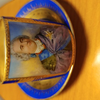 LouisXV Vienna porcelain cup - China and Dinnerware