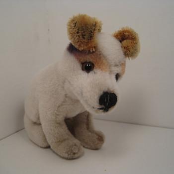"Sweet Steiff RCA ""His Master's Voice"" Fox Terrier  - Dolls"