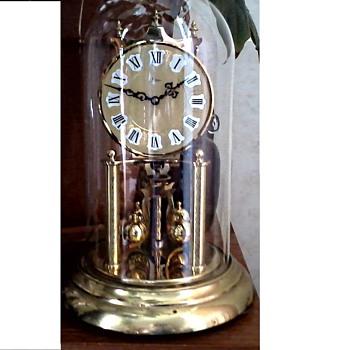 "Full Size 12"" West German ""Black Forest"" Kundo - Kieninger/Obergfell 400 Day Anniversary Clock / Circa 1950's 60's - Clocks"