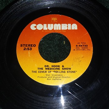 Dr. Hook And The Medicine Show...On 45 RPM Vinyl - Records