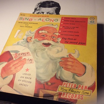 My record of  Christmas ,recorded 1959 on 45 RPM vinyl - Christmas