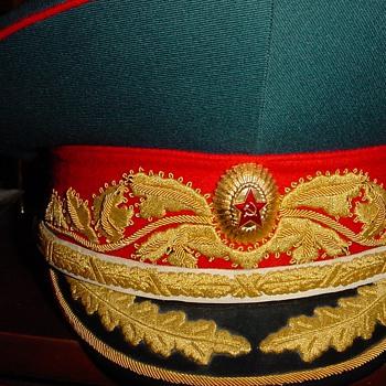 Parade Visor Cap of a Marshal of the Soviet Union