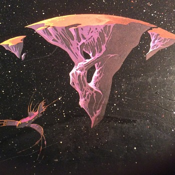 Roger Dean Art oN yes covers  - Records