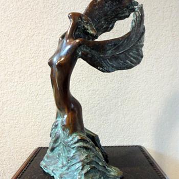 Bronze Angelic Figural