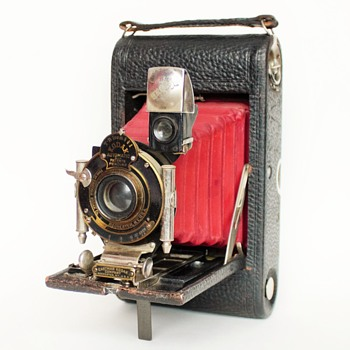 No.3 Foldinng Pocket Kodak - Model C5 - Cameras