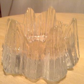 iittala bowl/ candleholder - Glassware