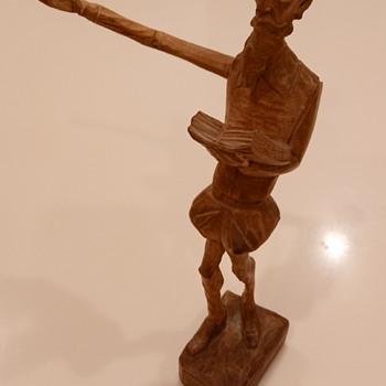 Wooden Figurine - Folk Art