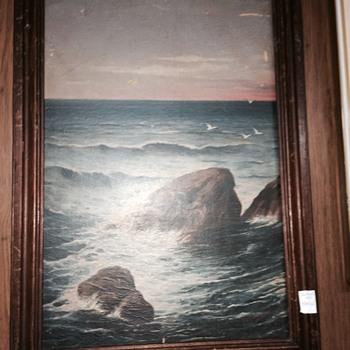 Fine Mystery Painting? Artist? - Fine Art