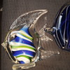 Murano glass angel fish