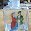 Small Austria marked bottle - Painted