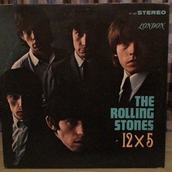 Records In The Attic Part II  1964 Rolling Stones 12X 5 Album London PS 402 - Records