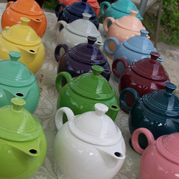 Fiestaware teapots - China and Dinnerware