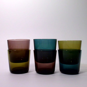 Small Wiesenthal tumblers from 1959 - Glassware