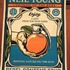 Neil Young screenprint by Shepard Fairey