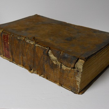 Family Bible, 1813, Boushill, Saint-Thomas, Ontario, Upper Canada. - Books