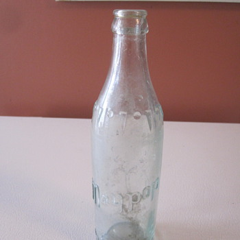 Vintage Maypop Soda Bottle - Bottles