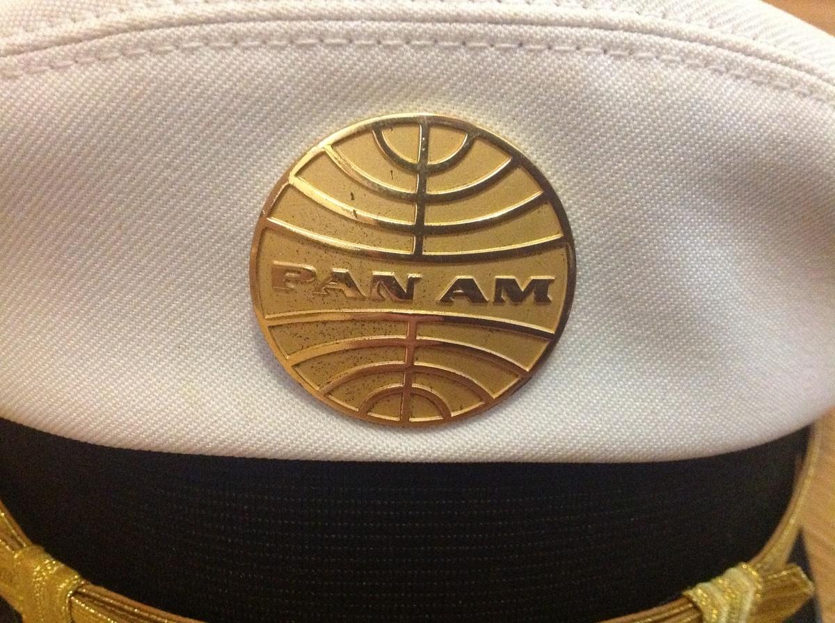 Vintage Pan Am Captain's Hat   Collectors Weekly