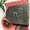 Pewter matchbox cover