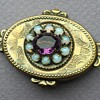 Edwardian 10K Brooch with Stones