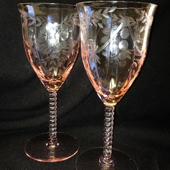 Central Glass Works - Elegant Glass Stemware - Glassware