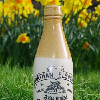 NATHAN ELSDON GINGER BEER CONSETT - Bottles