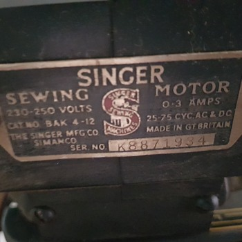 Singer  - Sewing