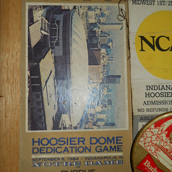 Hoosire Dome R.I.P. - Football