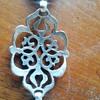 Silver (?) chain belt