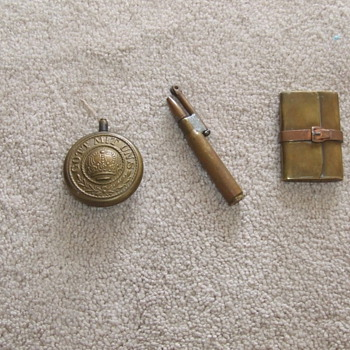 Trench Art through the years:  Lighters - Military and Wartime