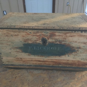 Antique Trunk from who knows where - Furniture