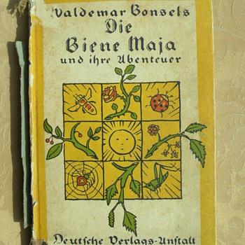 first Edition on Biene Maja - Books