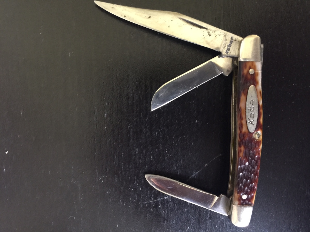 Can anyone tell me about this Kabar pocket knife