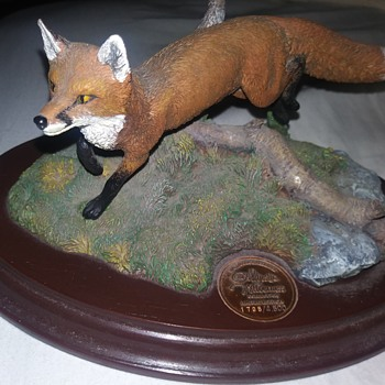 Red Fox Hallmark - Animals