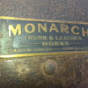 1900 Indestructo Steamer Trunk by Monarch