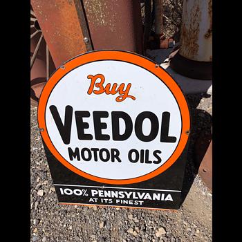 Veedol Oil - Signs