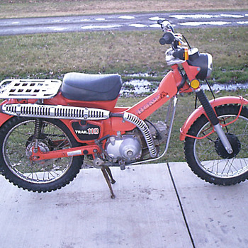 1981 Honda CT110 Trail 110 - Motorcycles